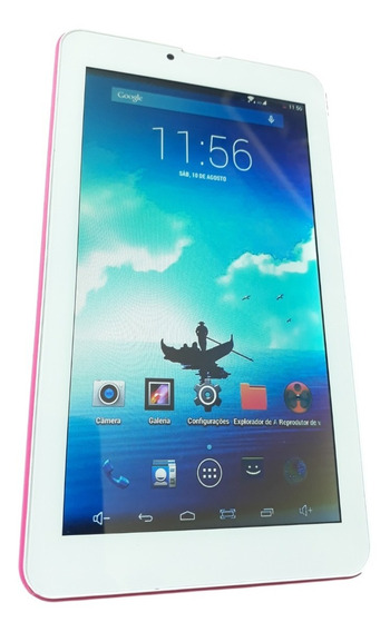 Tablet Multilaser M7 3g Quad Core 8gb Dual Chip Seminovo