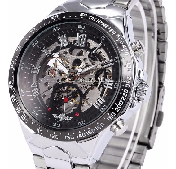 Relógio Mecânico Automático Importado Winner Frete Grátis