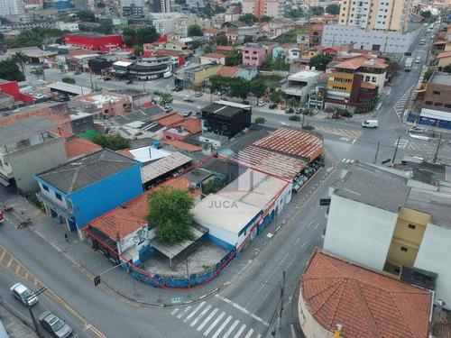 Terreno Para Alugar, 635 M² Por R$ 13.000,00/mês - Matriz - Mauá/sp - Te0053