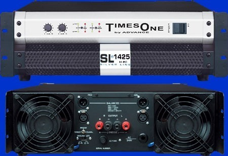 Amplificador Potência Advance Times One Sl 1425 H2 10000 Wt