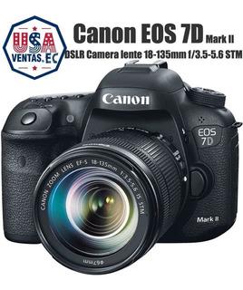 Canon Cámara Profesional Eos 7d Mark Il + Lente Kit 18-135mm