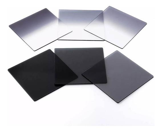 Kit Filtro Nd Formato Cokin Série P C/ Suporte 8 Pecas