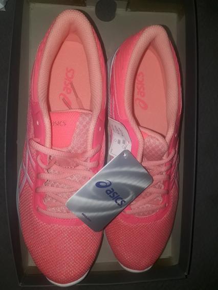 Zapatillas Asics De Mujer Nuevas Sin Uso Talle 39.5 (usa)