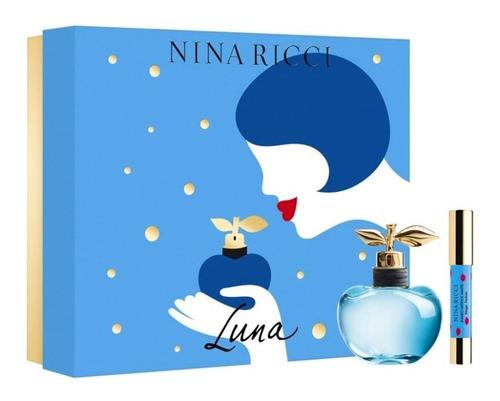 Imagen 1 de 10 de Perfume Importado Mujer Nina Ricci Luna Estuche