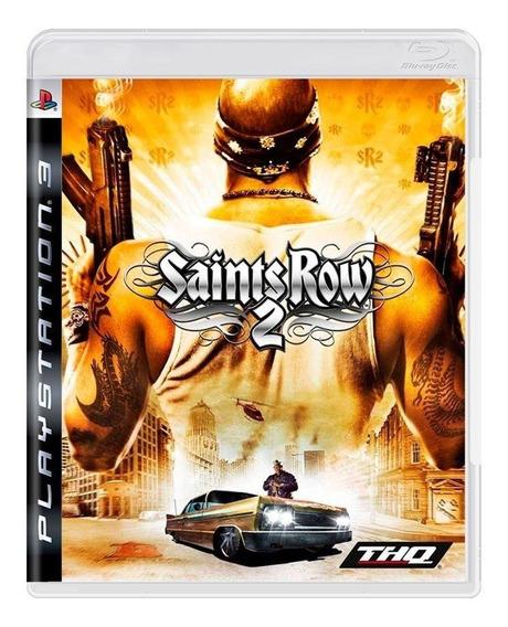 Saints Row 2 Ps3 Mídia Física Pronta Entrega