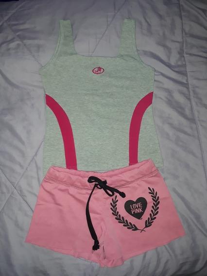 Pijamas Dama Shorts Blusas Crop Top Sueter Talla S Bazar