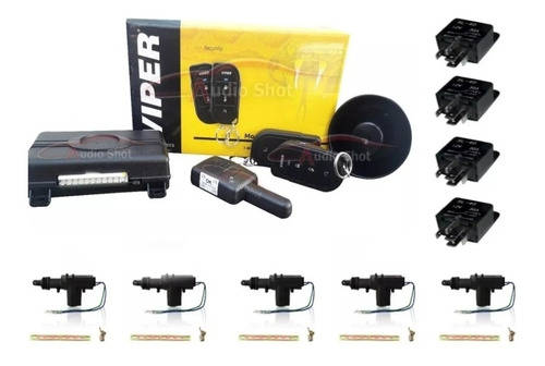 Imagen 1 de 6 de Alarma Viper 3106v + 5 Actuadores  + 4 Relays