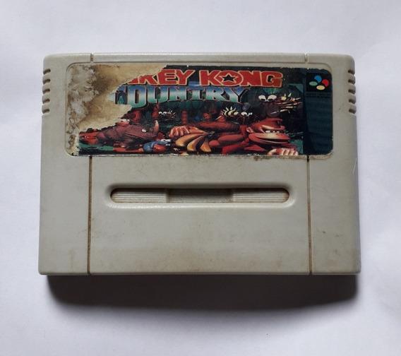 Donkey Kong Country Não Salva Super Nintendo Snes