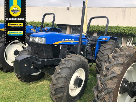 Tractor New Holland 6810s Fwd