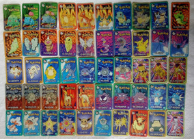 Coleção Completa Tazos/cards Pokémon Retangulares