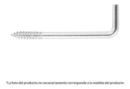 Imagen 1 de 4 de Alcayata Roscada 16 X 20 Fiero 44985