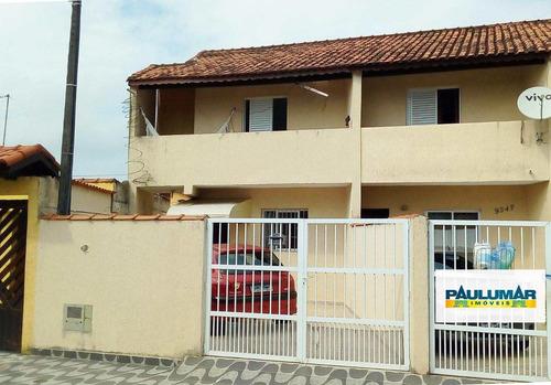 Sobrado Com 2 Dorms, Agenor De Campos, Mongaguá - R$ 200 Mil, Cod: 827697 - V827697