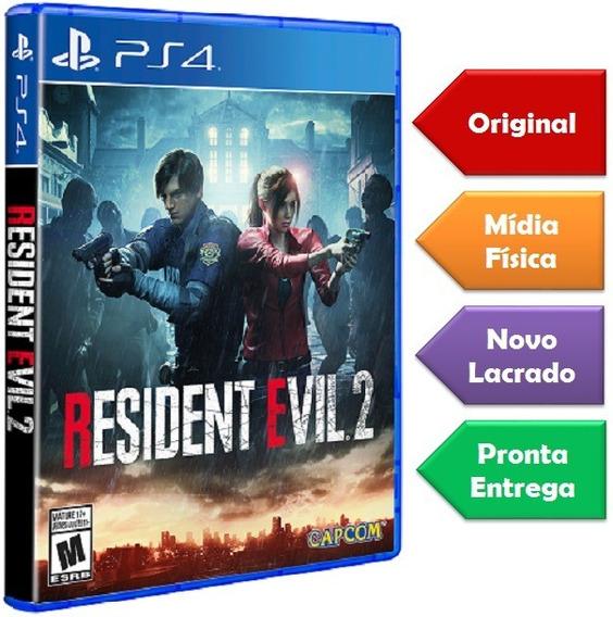 Resident Evil 2 Remake Ps4 Mídia Física Novo Pronta Entrega