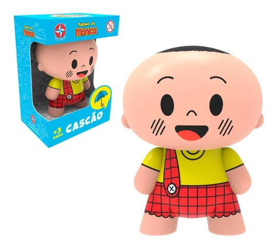 Boneco Toy Art Cascão Turma Da Mônica Estrela Vinil