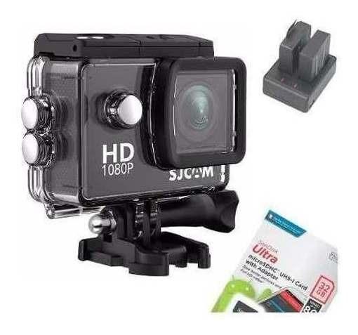 Câmera Filmadora Original Sjcam Sj4000 Fhd Motocicleta 1080p