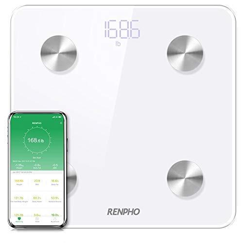 Renpho Bluetooth Body Fat Scale Analizador Digital Inteligen