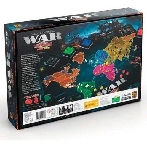 Jogo War Edicao Especial Ultima Versao Caixa Nova Grow Mercado Livre