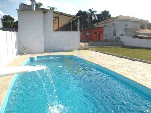 Chácara Com 2 Dormitórios À Venda, 1000 M² Por R$ 550.000,00 - Vitória Régia - Atibaia/sp - Ch0034