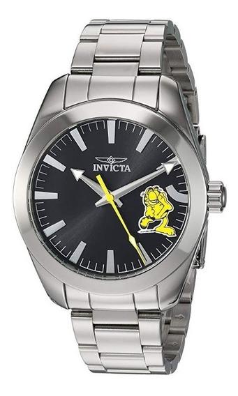 Reloj Invicta Hombre 25161 Coleccion Garfield Inoxidable