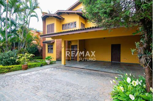Casa Com 4 Dormitórios À Venda, 462 M² Por R$ 1.300.000,00 - Granja Viana - Cotia/sp - Ca0087