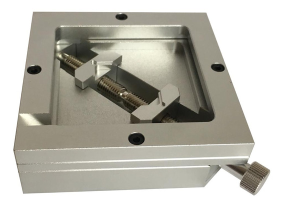 Suporte Chipset Bga 90x90mm Com Parafuso Lateral