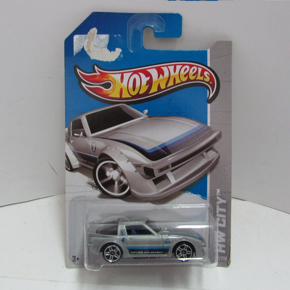 Escala 1/64 Hot Wheels Mazda Rx 7 Hw City 2013 Jorgetrens