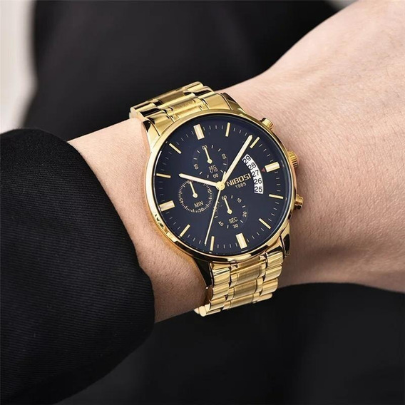 Relógio Masculino Blindado Nibosi Original Pronta Entrega