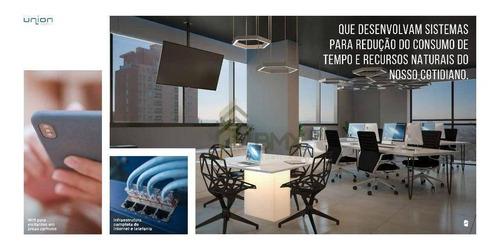 Sala À Venda, 48 M² Por R$ 325.500,00 - Água Verde - Curitiba/pr - Sa0089