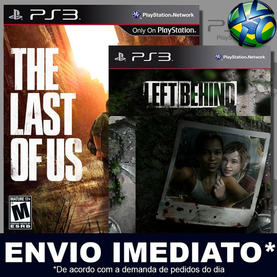 The Last Of Us + Left Behind Ps3 Psn Dublado Português