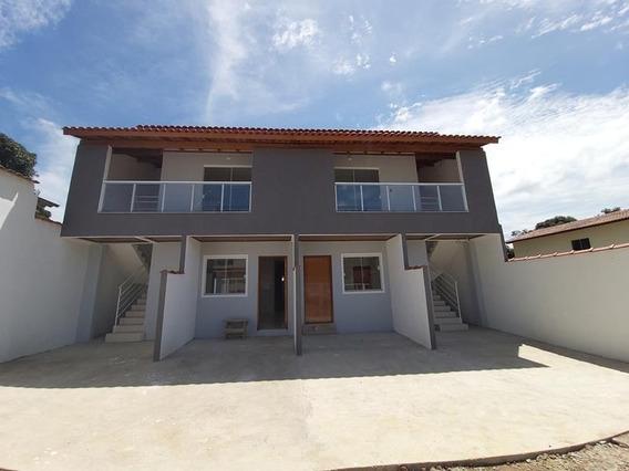Macafé. Casa Duplex 2 Quartos Com Suíte, 75 M², Quintal Grande E Individualizado, Frente E Fundos, Com Excelente Acabamento. - Ca00335 - 34940822