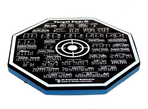 Imagem 1 de 2 de Pad De Estudo 40 Rudimentos - Target Pads