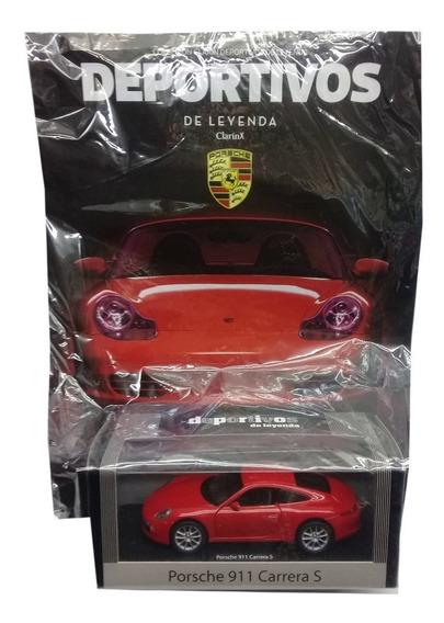 Autos Deportivos Leyenda Clarin Nº3 Porsche 911 Carrera S