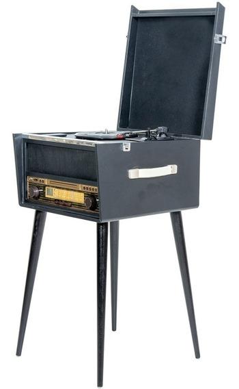 Rádio Toca Discos North Retrô Cd Player