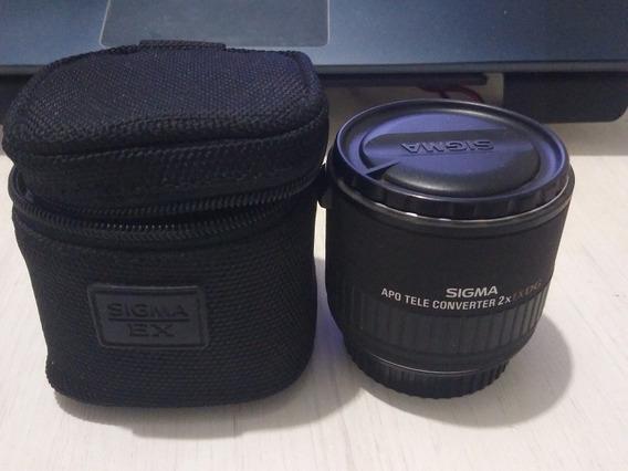 Teleconversor 2x Sigma Dg Para Canon