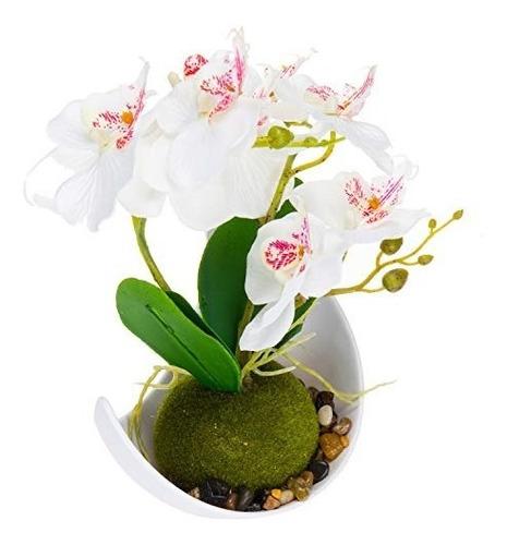 Moderna Decoracion De Flores Artificiales Orquideas Sintetic