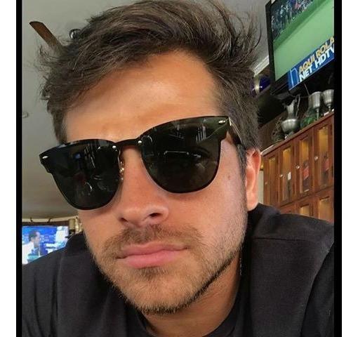 Óculos De Sol Masculino Quadrado Espelhado Lançamento Novo