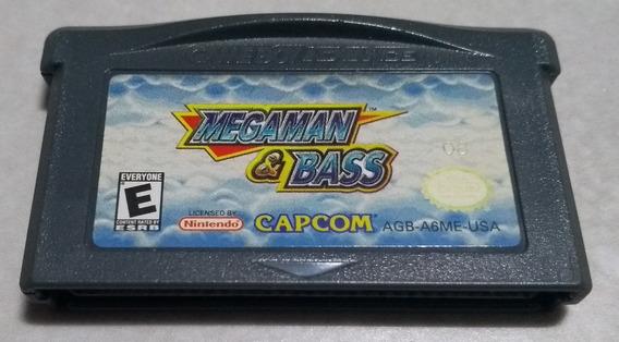 Mega Man & Bass Americano 100% Original Game Boy Advance
