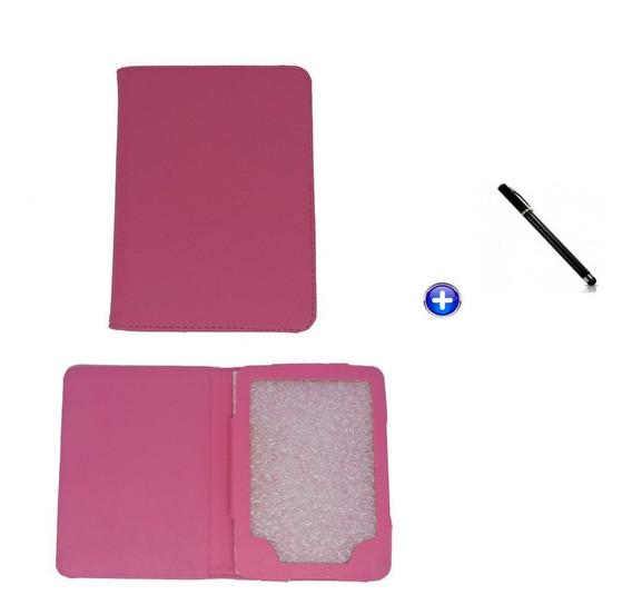 Capa E-reader Kindle 6 Magnético / Controlestouch (rosa)