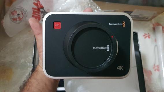 Blackmagic Production Camera 4k Eos Canon Promoção Baixou!