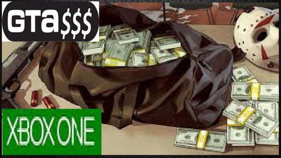 Gta V - Up - Xbox One - 5,000,000 M