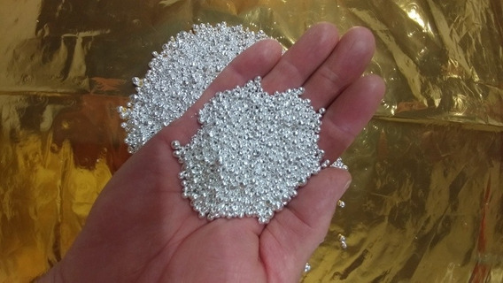 Prata 1000, Pura Granulada Eletrolítica Teor, 999.9. 500g
