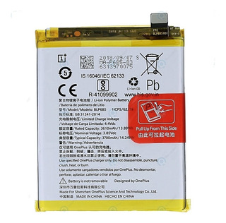 Bateria Celular Oneplus 6t 6 T One Plus Modelo Blp685