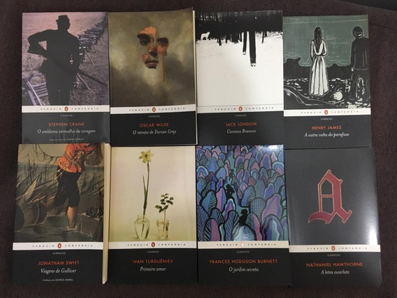 8 Livros Editora Penguin