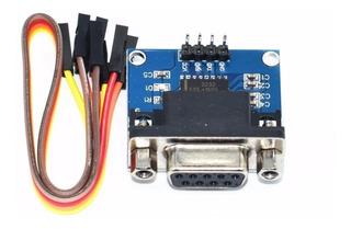 Convertidor Rs232 Ttl Db9 Max3232 Cdmx Electrónica