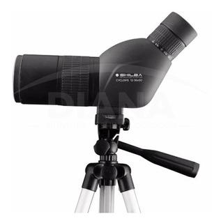 Catalejo Shilba Cyclops 12-36x50mm Estuche Tripode Aves Avistaje Agente Oficial