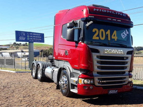 Scania R 440 6x4 Highline Ano 2014