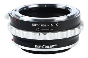 Anel Lente Nikon G Para Sony Nex E-mount - K&f Concept