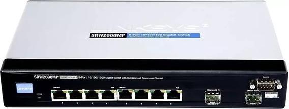 Interruptor Gerenciado De 8 Portas Cisco Srw2008mp