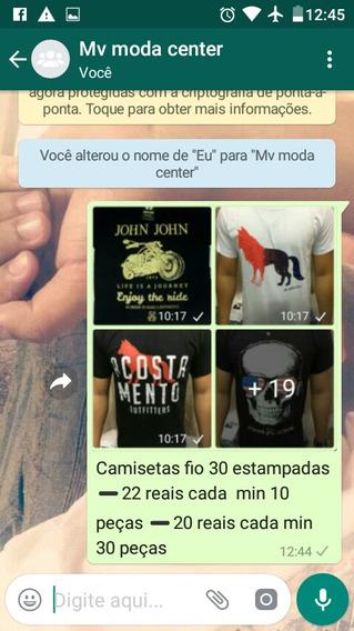 Camisetas Fip 30 Estanpadas