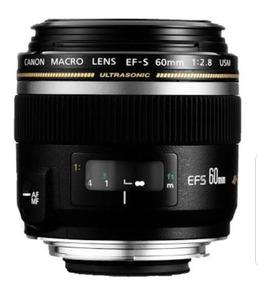 Lente Canon Ef-s 60mm
